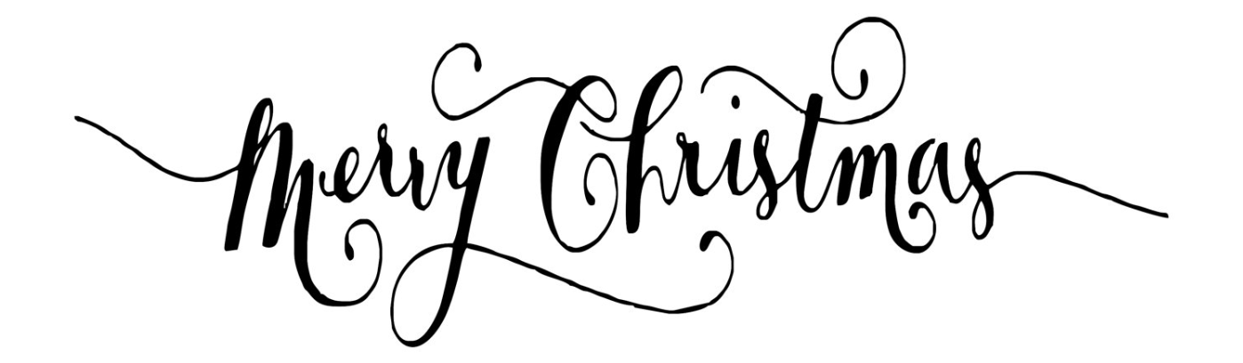 Christmas Clipart Words